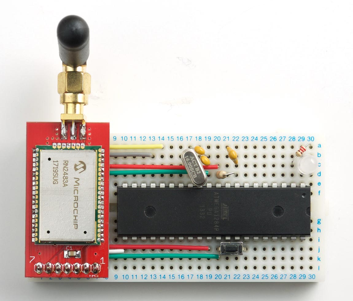 Ulisp A Lorawan Node Using Raspberry Pi Serial Breakout Board Circuit Diagram Click For Once Youve Installed The Program You Can Save It In Eeprom And Make Run Automatically On Reset