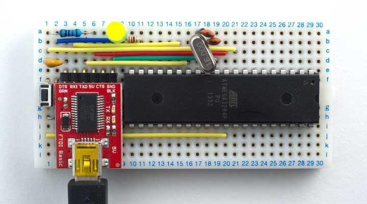 How to burn bootloader into atmega328 in arduino